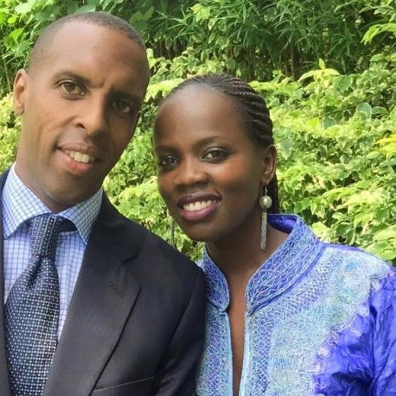 Marc and Betty Kagisye