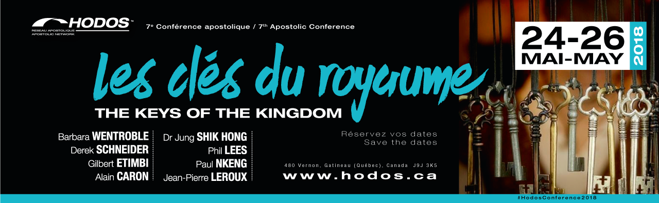 7th Annual Hodos conference: THE KEYS OF THE KINGDOM